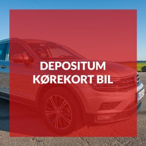 Depositum kørekort bil